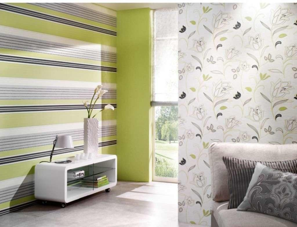 Wall-papers simple. The most fashionable wallpaper: colors, prints ...
